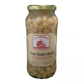 Garbanzo Cocido La Gallega tarro 580ml