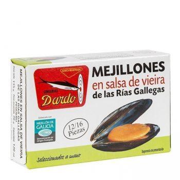 Mejillón salsa vieira