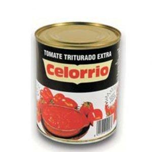 Tomate triturado Celorrio lata 1kg